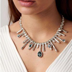 UNO de 50 ORIÓN Swarovski Crystals Silver Necklace